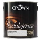 CROWN RETAIL INDULGENCE EMULSION ASPEN SILVER 2.5LTS