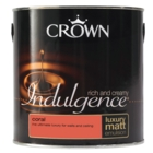CROWN RETAIL INDULGENCE EMULSION CORAL 2.5LITRE