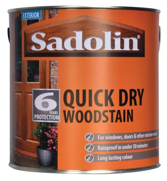 Quick Dry Woodstain 2.5lt