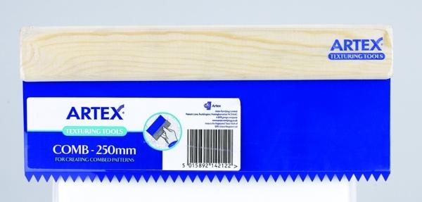 ARTEX COMB STANDARD 250 MM - Winterstoke Decorator Supplies