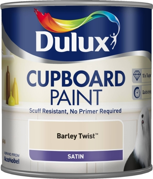DULUX RETAIL CUPBOARD PAINT BA PAINT BARLEY TWIST 600ML