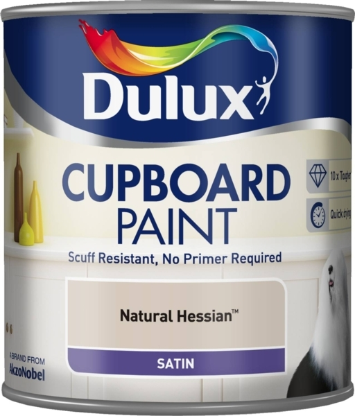 DULUX RETAIL CUPBOARD PAINT NA PAINT NATURAL HESSIAN 600ML