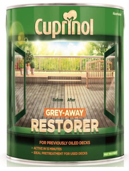 Cuprinol Decking Grey-Away Restorer