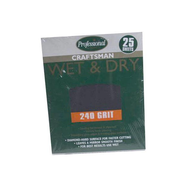 RODO PROFESSIONAL WET & DRY 240GRIT QUIRE