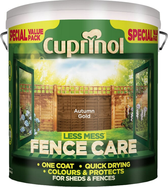 Cuprinol Less Mess Shed & Fence