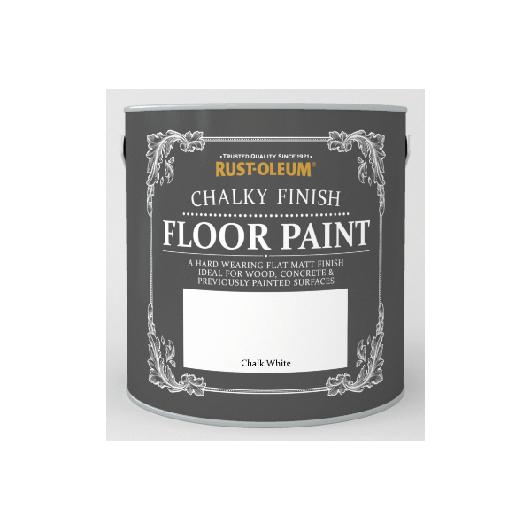 Chalky Finish Floor Paint