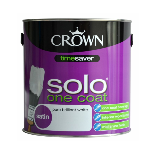 Solo One Coat Satin