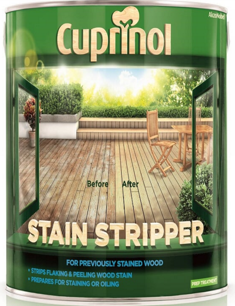 Decking Stain Stripper