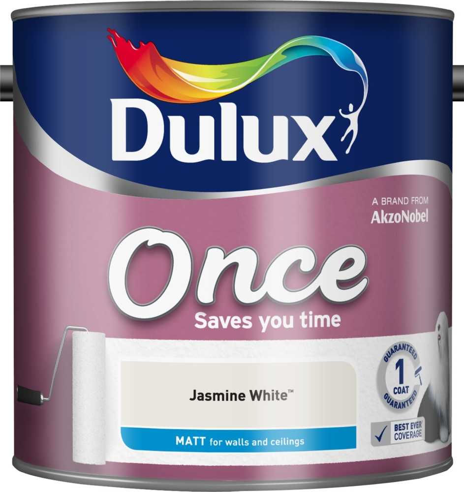 Once Matt Colours 2.5lt