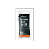 HARRIS POLYTHENE DUST SHEET 12' X 9'