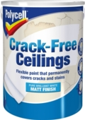 POLYCELL CRACK FREE CEILINGS SMOOTH MATT 5LTS