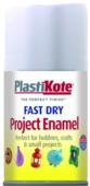 PLASTI-KOTE FAST DRY ENAMEL FLAT WHITE (102-SF) 100MLS