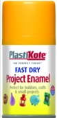 PLASTI-KOTE FAST DRY ENAMEL SUNSHINE YELLOW (107-S) 100MLS
