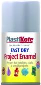 PLASTI-KOTE FAST DRY ENAMEL ALUMINIUM (109-S) 100MLS