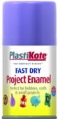 PLASTI-KOTE FAST DRY ENAMEL LAVENDER (120-S) 100MLS