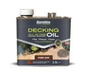 BARRETTINE ALL IN ONE DECKING OIL DARK OAK 2.5LITRE