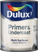 DULUX RETAIL Q/D MULTI SURFACE PRIMER & UNDERCOAT 750ML