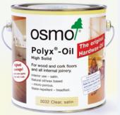 OSMO POLYX-OIL CLEAR 3032 SATIN 750MLS