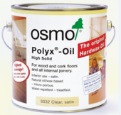 OSMO HARDWAX OIL CLEAR 3032 SATIN 125MLS