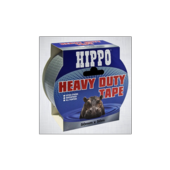HIPPO HEAVY DUTY TAPE SILVER 50mm x 25m