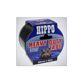 HIPPO HEAVY DUTY TAPE BLACK 50mm x 25m