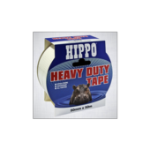 HIPPO HEAVY DUTY TAPE WHITE 50mm x 25m