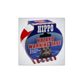 HIPPO HAZARD TAPE  RED 50mm x 33m