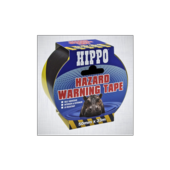 HIPPO HAZARD TAPE  YELLOW 50mm x 33m