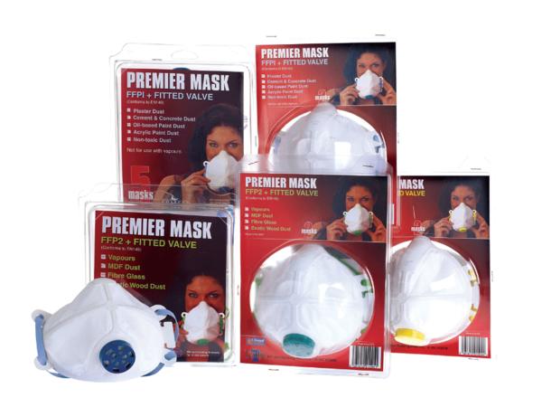 TEMBE  PREMIER MASK FFP1 WITH VALVE  2pack