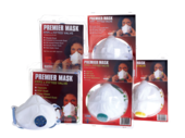TEMBE  PREMIER MASK FFP1 WITH VALVE  2pack