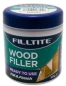 FILLTITE READYMIXED WOOD FILLER NATURAL 325GRM