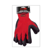 RODO BLACKROCK TEXTURED RUBBER COATED H/DUTY GRIPPER GLOVES