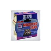 HIPPO LOW TAC MASKING TAPE 50mm X 50m