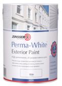 ZINSSER PERMA-WHITE EXTERIOR SATIN WHITE 5LITRE