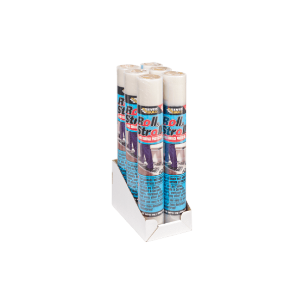 EVERBUILD ROLL & STROLL HARD SURFACE PROTECTOR 600mm x 25m
