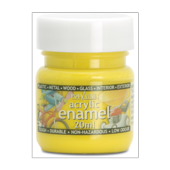 POLYVINE ACRYLIC ENAMEL YELLOW  (36)  20ML