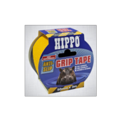 HIPPO grip tape yellow black hazard 50mm x 3M