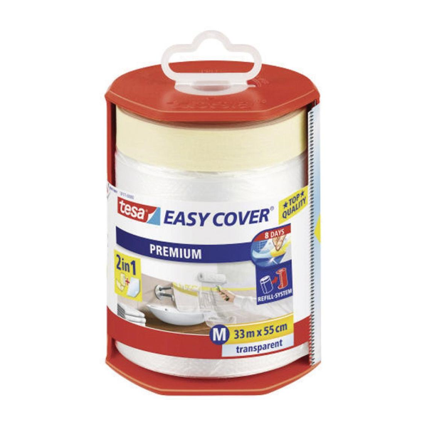 TESA Easy Cover 7 day mask dispenser 33M X  550mm