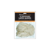 HARRIS LATEX GLOVES DISPOSABLE -10