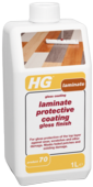HG LAMINATE PROTECTIVE COATING GLOSS FINISH No.70  1litre