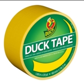 Duck Tape  - Yellow 48mmx 18.2m
