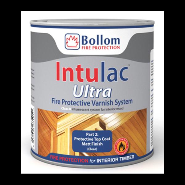 BOLLOM INTULAC ULTRA CLEAR MATT PROTECTIVE TOP COAT LITRE