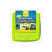 HARRIS MICROFIBRE CLEANING CLOTHS 2 PACK