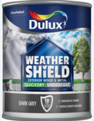 DULUX RETAIL WEATHERSHIELD UNDERCOAT DARK GREY 750MLS