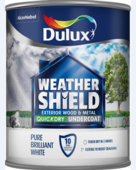DULUX RETAIL WEATHERSHIELD UNDERCOAT B/W 750MLS