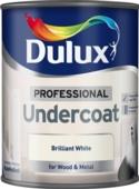DULUX RETAIL UNDERCOAT BRILLIANT WHITE 750MLS
