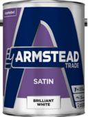 ARMSTEAD TRADE SATIN B/WHITE 5L