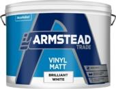 ARMSTEAD TRADE VINYL MATT B/WHITE 10L