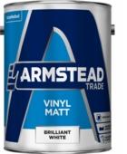 ARMSTEAD TRADE VINYL MATT B/WHITE 5L