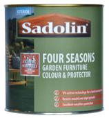SADOLIN GARDEN FURNITURE STAIN PROTECTOR WARM TEAK LITRE
